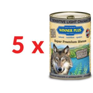 Hrana umeda pentru caini contine pui si cartofi Winner Plus